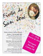 Triduo en honor a San José en Camuy