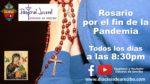 En enero 2021 dirige los Rosarios la Pastoral Juvenil