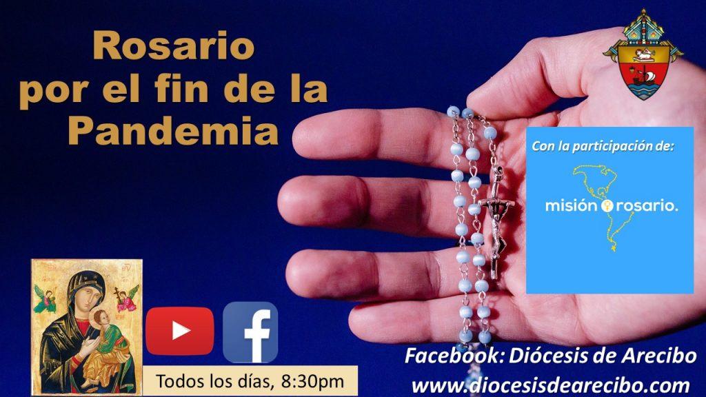 Continúa el rezo en marzo en unión a Misión Rosario